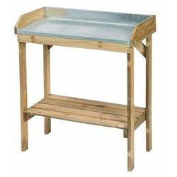 Drewniany stolik ogrodniczy - Pratt