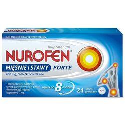Nurofen Mięśnie i stawy Forte 400mg x 24 tabletki