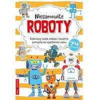Kolorowanki, Kolorowanka z naklejkami - Niesamowite Roboty - Praca zbiorowa