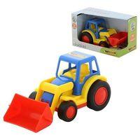 Traktory dla dzieci, Basics Traktor z ładowarką pudełko