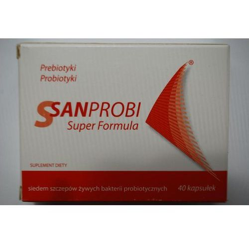 Prebotyki i probiotyki, Sanprobi Super Formula kaps. 40 kaps.