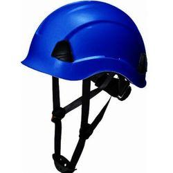 Kask hełm roboczy LOKI wysokościowy 4-pkt - blue