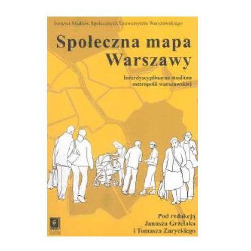 Biblioteka biznesu, Społeczna mapa Warszawy (opr. miękka)