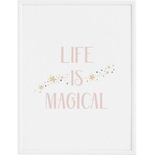 Plakaty, Plakat Life is Magical 21 x 30 cm