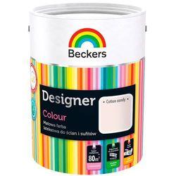 Beckers Farba Lateksowa Designer Colour Cotton Candy 5L