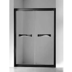 New Trendy | Drzwi wnękowe Quantum 120 cm, wys. 200 cm, szkło czyste SCN-011