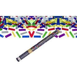 Tuba strzelająca - konfetti metaliczne - 60 cm - 1 szt.