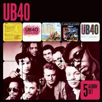 Pozostała muzyka rozrywkowa, 5 Album Set - UB40 (Płyta CD)