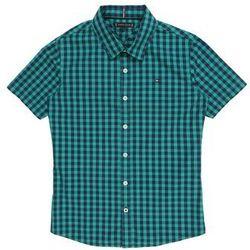 TOMMY HILFIGER Koszula granatowy / turkusowy