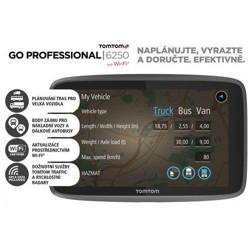 Nawigacja samochodowa, TomTom GO Professional 6250 EU