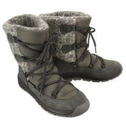 MANITU 991265-9 grau, śniegowce damskie