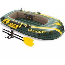 Intex Seahawk ponton z wiosłami + pompka Darmowa wysyłka i zwroty