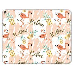 Apple iPad Air (2019) - etui na tablet Flex Book Fantastic - różowe flamingi