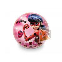 Piłki dla dzieci, Piłka gumowa Miraculous Lady Bug 23 cm