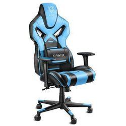 Fotel DIABLO CHAIRS X-Fighter Czarno-niebieski + Zamów z DOSTAWĄ JUTRO!