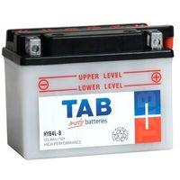Akumulatory do motocykli, Akumulator motocyklowy TAB YB4L-B (HYB4L-B) 12V 4Ah 45A P+