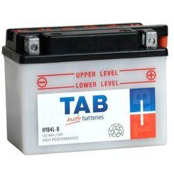 Akumulator motocyklowy TAB YB4L-B (HYB4L-B) 12V 4Ah 45A P+