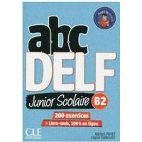 Książki do nauki języka, ABC DELF B2 junior scolaire ks+DVD+zawartość online - Payet Adrien, Sanchez Claire