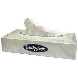 Chusteczki higieniczne BulkySoft 21x21cm białe 100 sztuk 68100