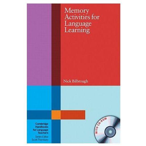 Książki do nauki języka, Memory Activities For Language Learning With CD-ROM Cambridge Handbooks For Language Teachers (opr. miękka)