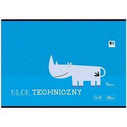 Blok techniczny INTERDRUK A4 BB Kids - kolorowy