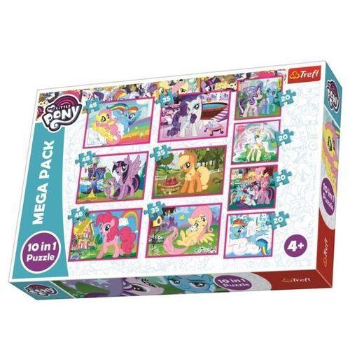 Puzzle, Puzzle 10w1 My Little Pony TREFL