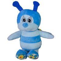 Pozostałe zabawki, Maskotka Pszczółka Maciejka niebieska 23 cm