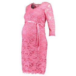 MAMALICIOUS MLMIVANA NEW 3/4 DRESS Sukienka koktajlowa rapture rose