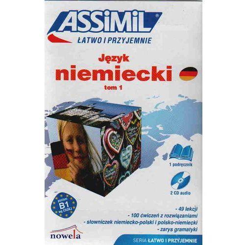 Książki do nauki języka, Język niemiecki Łatwo i przyjemnie tom 1 + 2CD (opr. kartonowa)