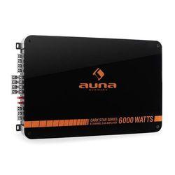 Auna Dark Star 6000 końcówka mocy do samochodu 6-kanał 600W RMS
