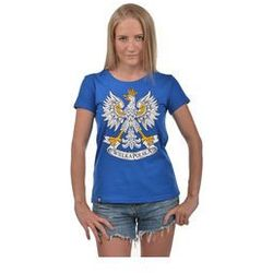 Koszulka Urodzeni Patrioci damska Wielka Polska