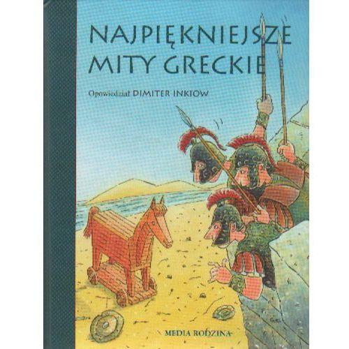 Książki dla dzieci, Najpiękniejsze mity greckie (opr. twarda)