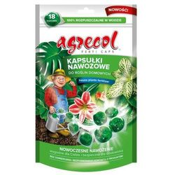 Kapsułki nawozowe do roślin domowych Agrecol 70 g