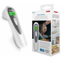 Termometr bezdotykowy medyczny 3w1 1sek Colour SoftTemp REER termometr 169 black friday (-15%)