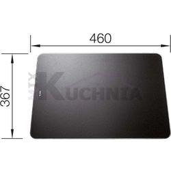 Deska kuchenna do krojenia BLANCO 367x460mm Szkło hartowane czarne (223078)