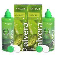 Płyny pielęgnacyjne do soczewek, Alvera Solution 2 x 350 ml