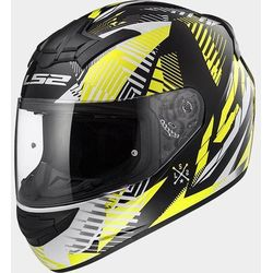 KASK LS2 FF352 ROOKIE INFINITE WHITE-BLACK-YELLOW
