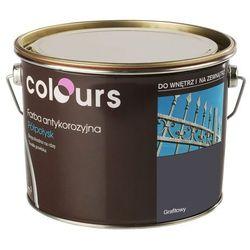 Farba antykorozyjna Colours grafitowa 2,5 l