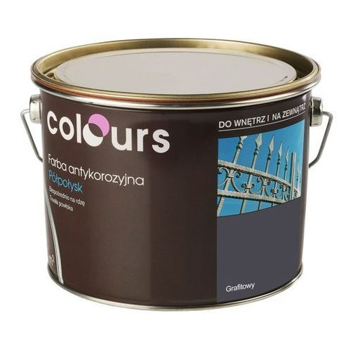 Farby, Farba antykorozyjna Colours grafitowa 2,5 l
