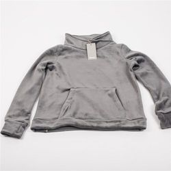 bluza BENCH - Her. Overhead Fleece Funnel Dark Grey (GY149) rozmiar: XS