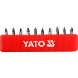 Końcówki wkrętakowe ph0x25 mm, kpl. 10 szt. Yato YT-0473 - ZYSKAJ RABAT 30 ZŁ