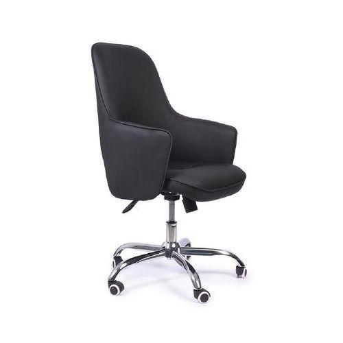 Fotele i krzesła biurowe, Fotel biurowy ADVISOR czarny