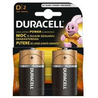 Baterie, Bateria DURACELL D 2szt.