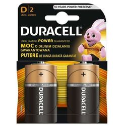 Bateria DURACELL D 2szt.