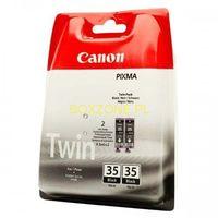 Tonery i bębny, Canon oryginalny ink PGI35BK, black, 2x191s, 1509B012, 2szt, Canon Pixma iP100
