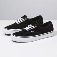 Męskie obuwie sportowe, buty VANS - Authentic Pro (Suede) Black (A6O) rozmiar: 40.5
