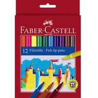 Mazaki i flamastry, Flamastry Faber-Castell Zamek 12 kolorów