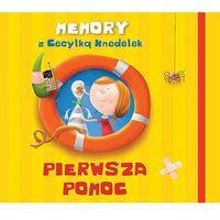 Książki dla dzieci, Memory z Cecylką Knedelek Pierwsza pomoc (opr. twarda)