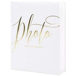 """Album na zdjęcia """"Precious Moments"""", PartyDeco, 20 x 24,5 cm, biały, 22 kartki"""