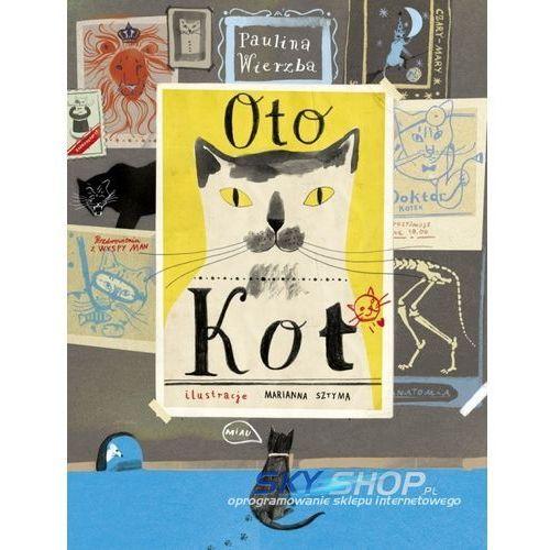 Książki dla dzieci, OTO KOT (opr. twarda)